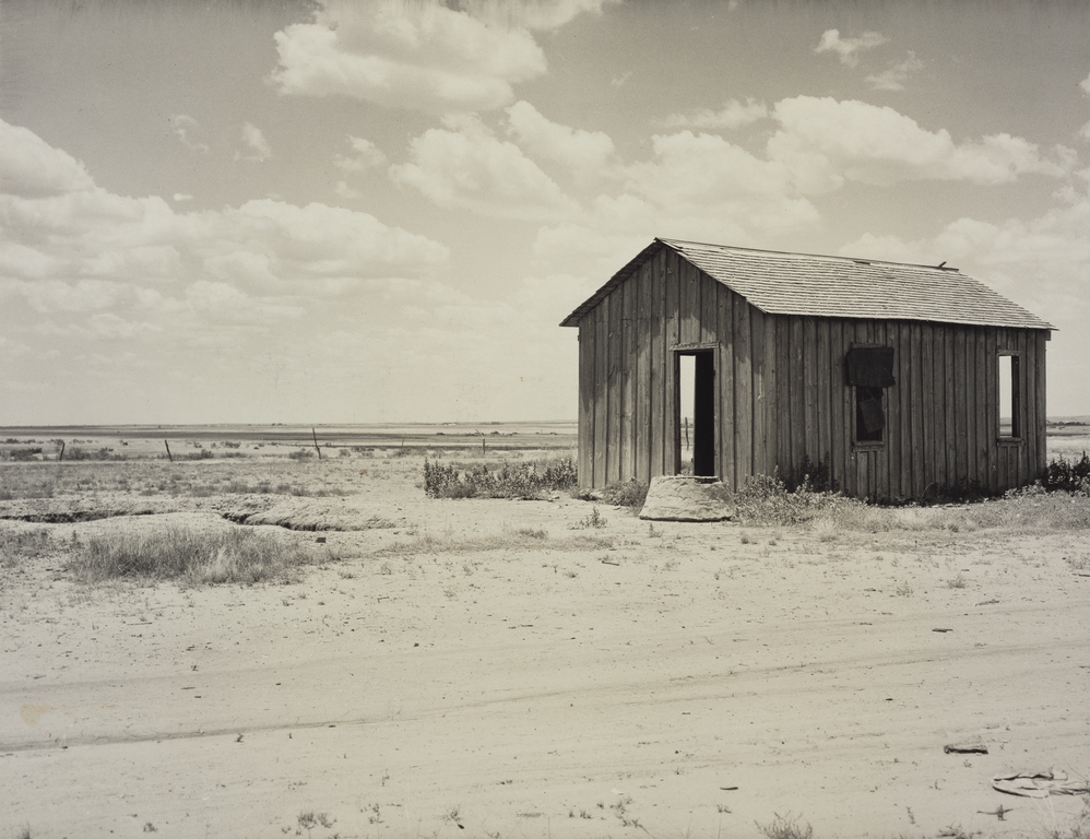 Abandoned Dust Bowl Home