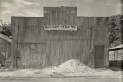 Corrugated Tin Facade / Tin Building, Moundville, Alabama